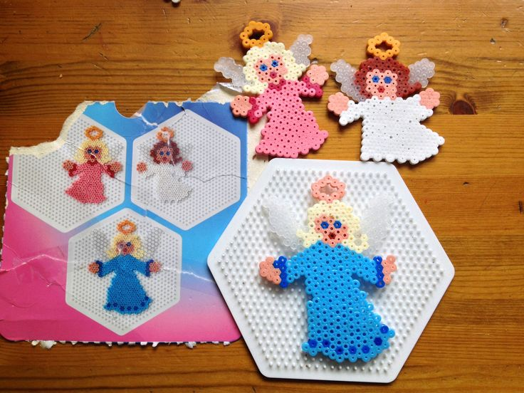 Hama Bead (Perler/melty) Angels kit