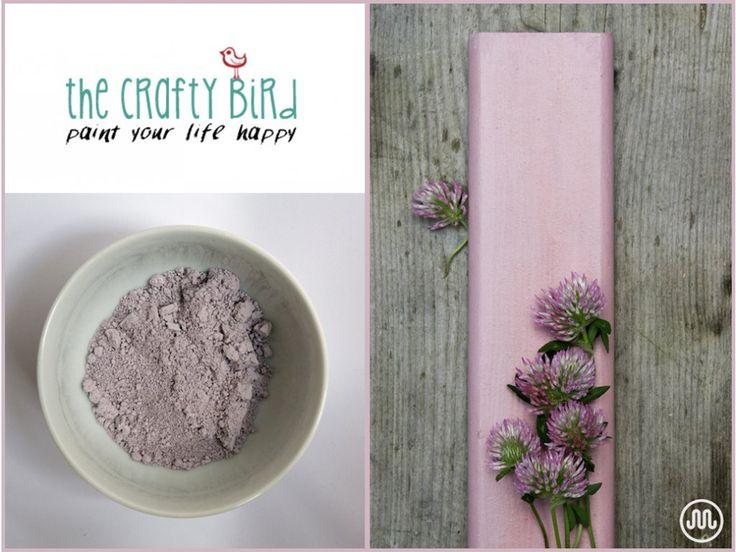 Mléčná barva BLUSHING CAILÍN starorůžový odstín od The Crafty Bird Milk Paint.
