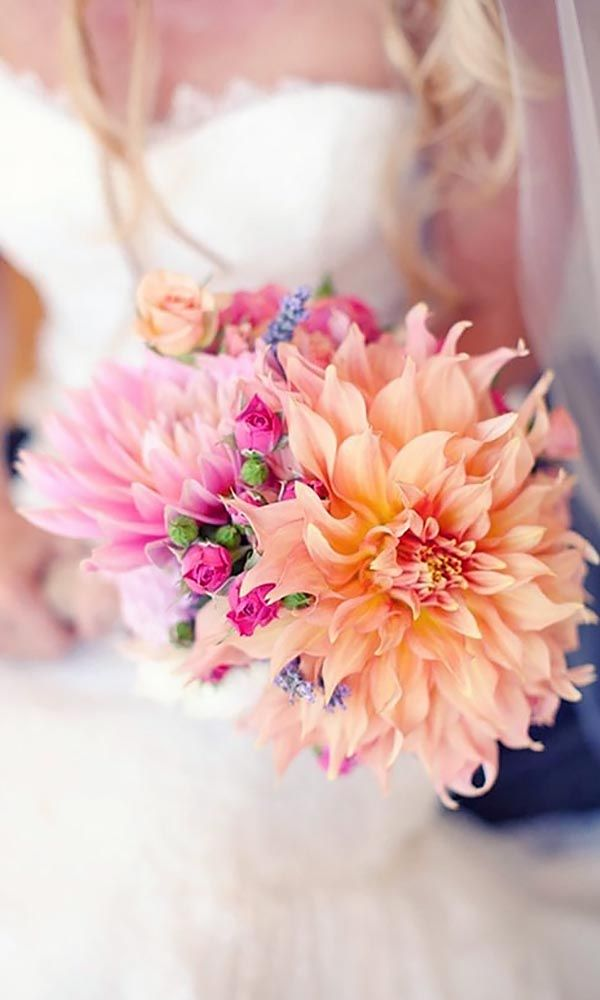 24 Gorgeous Summer Wedding Bouquets ❤ See more: http://www.weddingforward.com/gorgeous-summer-wedding-bouquets/ #weddings #bouquets