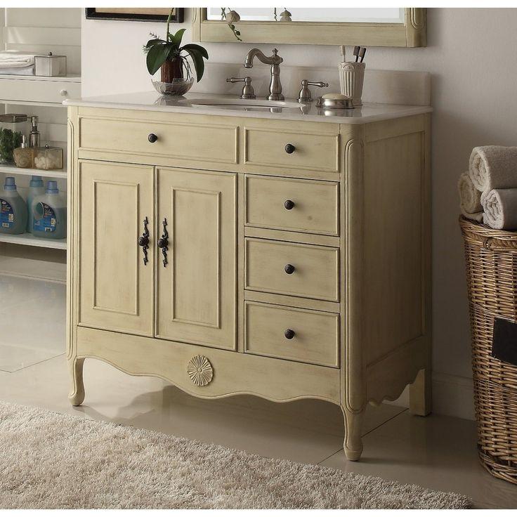 38   Daleville bathroom sink vanity With MIR BS   Cream  Beige. Best 25  Cottage cream bathrooms ideas on Pinterest   Cottage