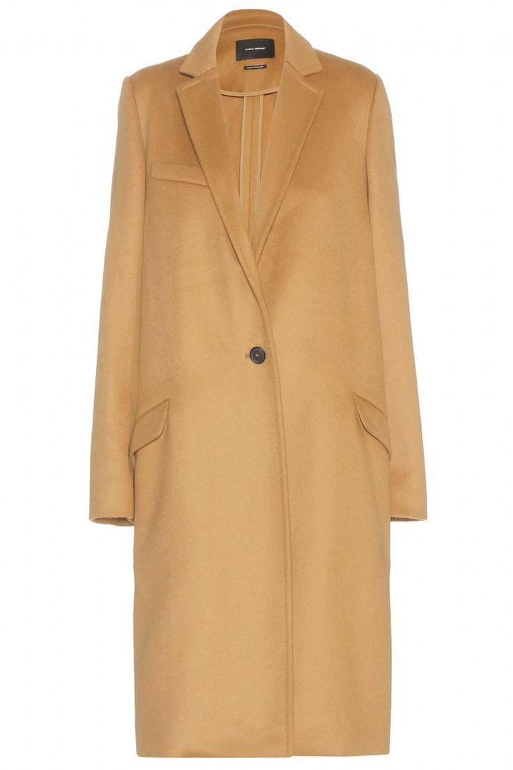 Isabel Marant Carlen Wool And Cashmere Blend Camel Coat, £600, Harvey Nichols