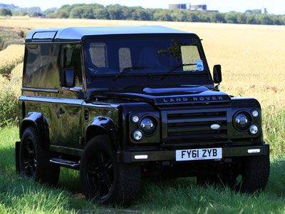 Alive Black Edition Defender 90 - Featured on Fifth Gear.