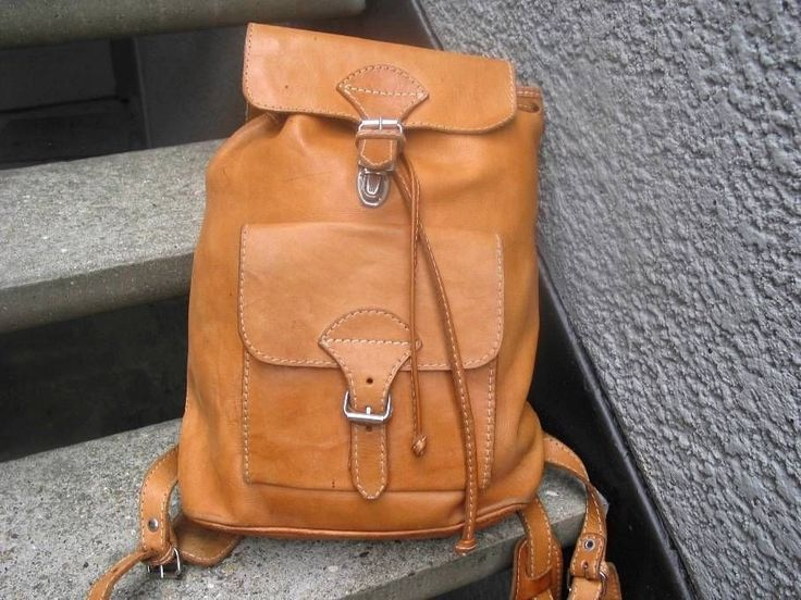Leather backpacks, Backpack bags and Leather on Pinterest