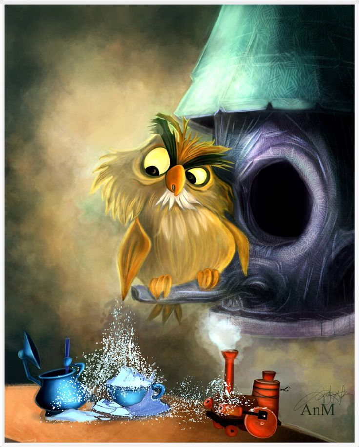"""Archimedes from """"The Sword in the Stone."""""""
