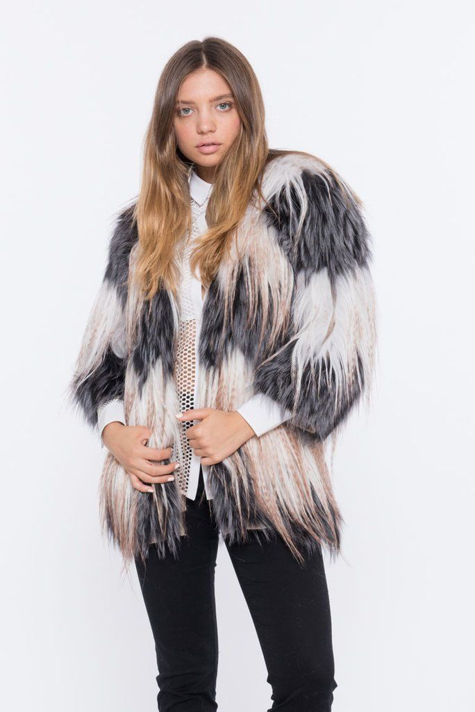 There's nothing like the BAISER fur jacket. This goat, sheep, and fox fur jacket turns heads everywhere! Shop Online Now. Free Shipping on all US orders!