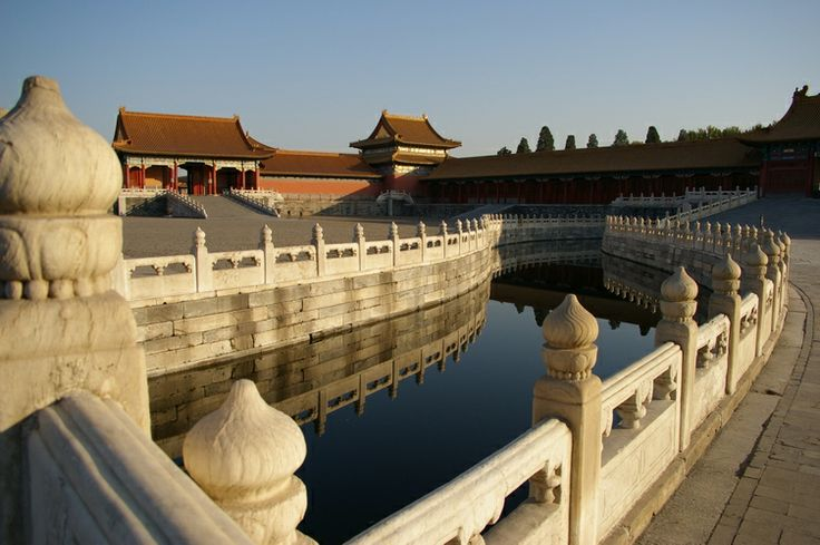 Inside the Forbidden City Beijing China