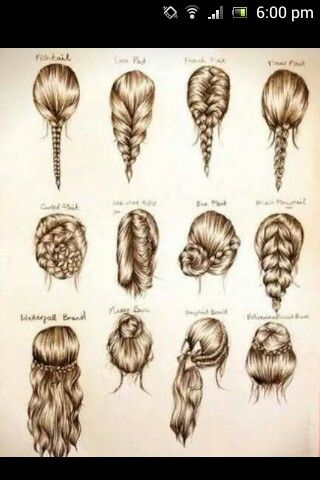 Different styles Just need to grow my hair