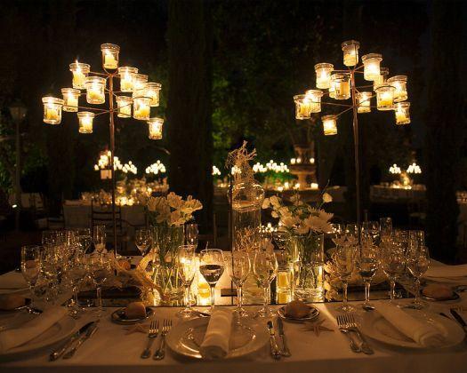 Iluminación para una boda de noche [Fotos]
