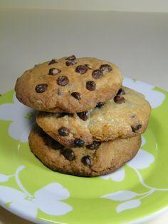 Receita de Cookies com gotas de chocolate. Enviada por Isadora Stangarlin e demora apenas 45 minutos.