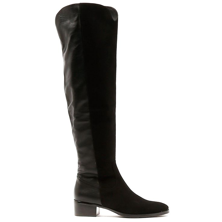 TIMBA by Django & Juliette. Embrace the colder season with these boots! Perfect to pair with an A-line skirt and turtleneck knit, you can look polished from head to toe with minimal effort. A merge of suede and leather, functional and fanciful.