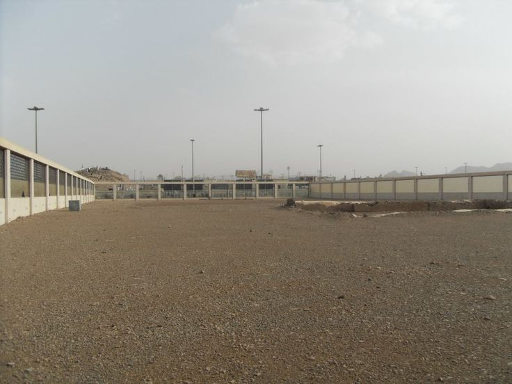 The grave of Hazrat Hamza (RA) and the martyrs of the Battle of Uhud
