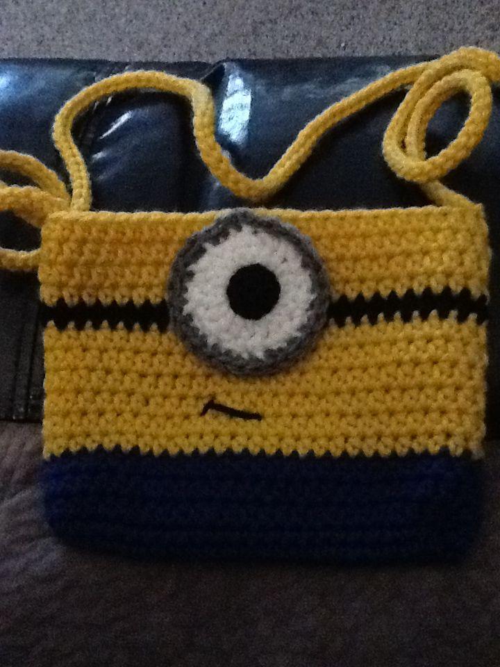 Crocheted minion purse 59 best Crochet minions