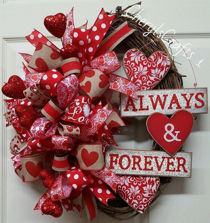 best 25 valentine day wreaths ideas on pinterest diy valentines day wreath diy valentine 39 s. Black Bedroom Furniture Sets. Home Design Ideas