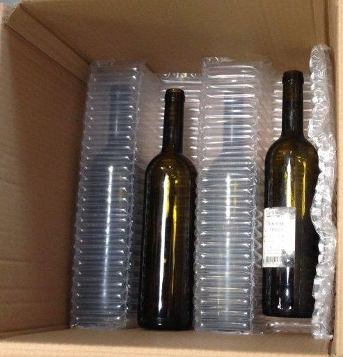 Layered crenel, 12 bottle solution - 1 row
