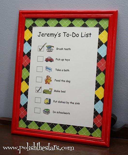Dry Erase To-Do List