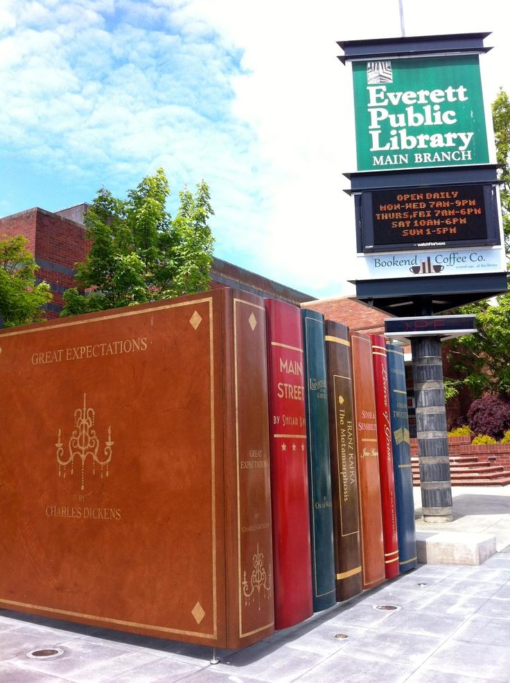 I had no idea. - Everett Public Library, Everett Washington!