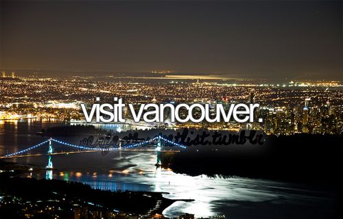 go to vancouver
