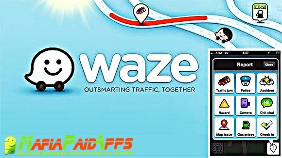 Waze - GPS Maps Traffic Alerts & Live Navigation Apk for Android    Waze - GPS Maps Traffic Alerts & Live Navigation Apk  Waze - GPS Maps Traffic Alerts & Live Navigation is a Maps & Navigation Applications for Android  Download last version of Waze - GPS Maps Traffic Alerts & Live Navigation Apk for android from MafiaPaidApps with direct link  Tested By MafiaPidApps  without adverts & license problem  without Lucky patcher & google play the mod   Save time on every drive. Waze tells you…
