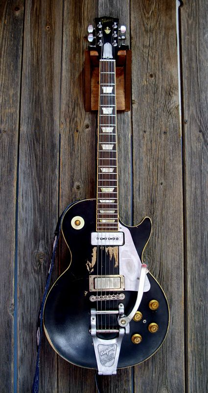 Old Black, Neil Young's Les Paul  - - Shared by The Lewis Hamilton Band - https://www.facebook.com/lewishamiltonband/app_2405167945  -  www.lewishamiltonmusic.com