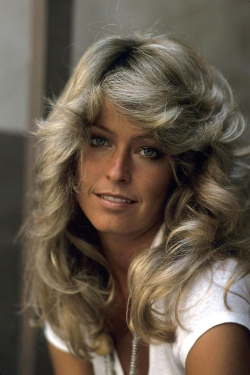 Farrah Fawcett. I love her hair sooooo much!