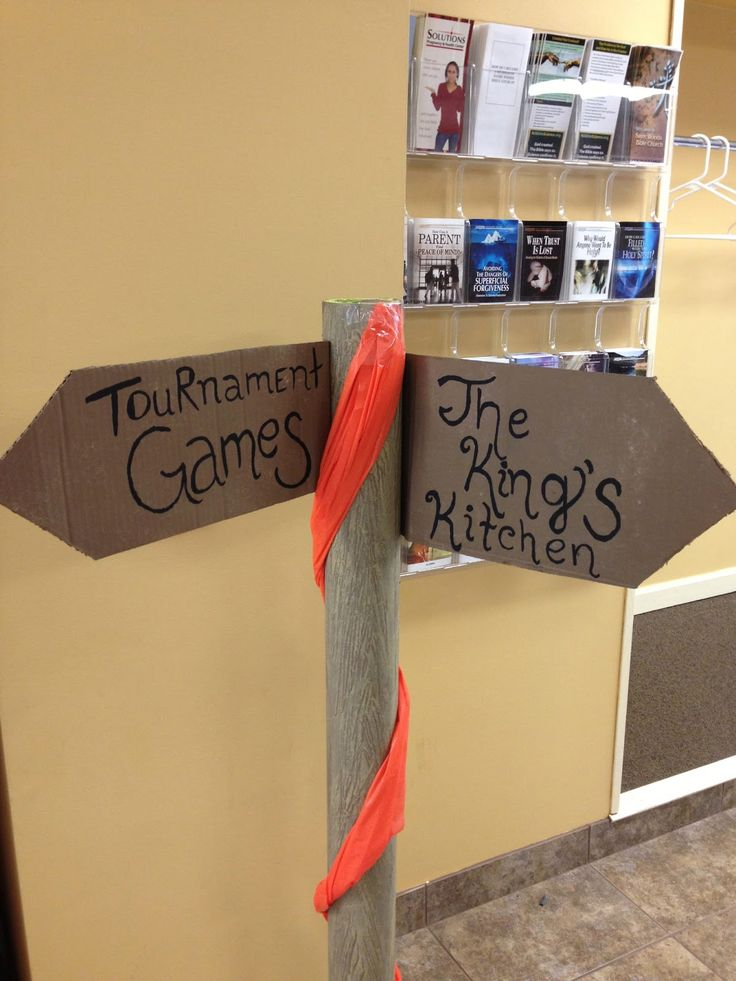 Some of the Best Things in Life are Mistakes: Kingdom Rock VBS Decorations