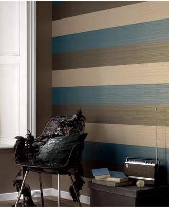 horizontal Domestic Sluttery: Wallpaper Wednesday: Graham & Brown Figaro Stripes