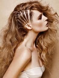 hair option #2 for gel set; super crazy and awesome, could be great for the editorial side of the gel set -nf