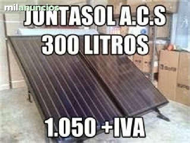 . Fabricante de equipos solares ofrece equipos para agua caliente sanitaria en diferentes formatos- termosif�n 165 litros 200, y 300 litros.- y equipos forzados con centralita, vaso de expansi�n placas solares a precios directos del fabricante. env�os a tod
