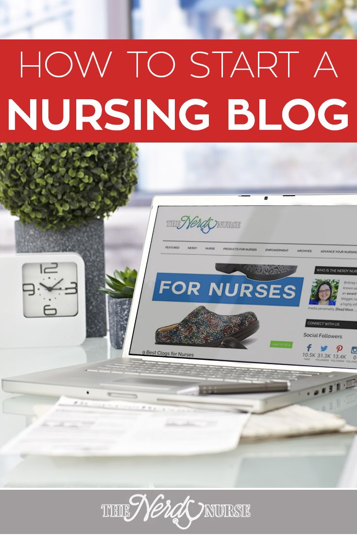 Every Nurse Should Blog! Start a Nursing Blog in just 3 easy steps. If you've ever wanted to share your views on healthcare, nursing, and anything, a blog is the way. Grow your personal brand, evolve your nursing career, and become an authority. This blog post walks you through how to get started. PIN NOW! Read later.