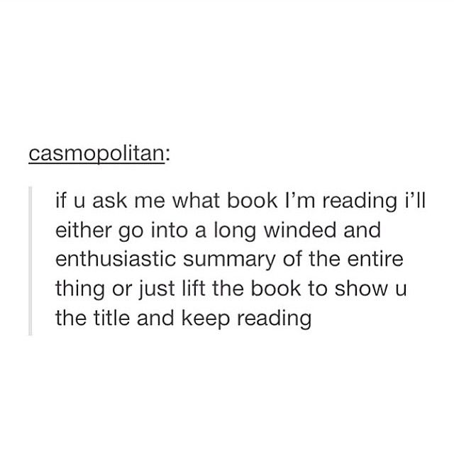 I have never read anything more true in my life, but for me it's usually the second one.