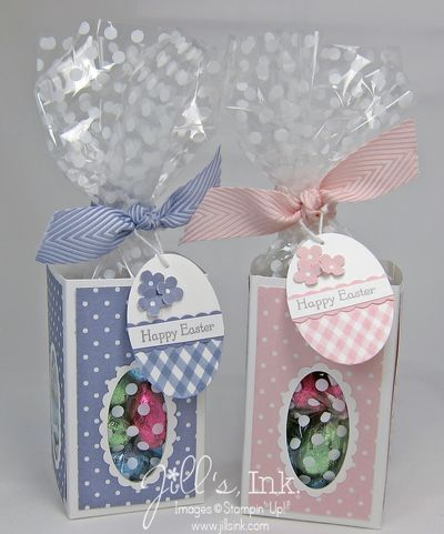 Jills Ink Oval Window Easter Boxes Step by step instructions