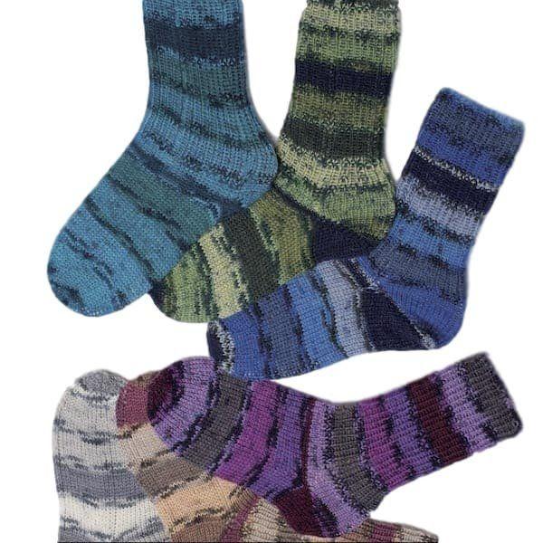 Classic Socks - Rellana Universal Pattern – I Wool Knit