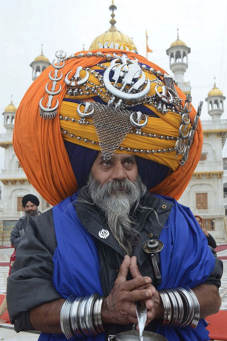 58 best The Sikh Turban (Pagh), Beard, and more images on ...