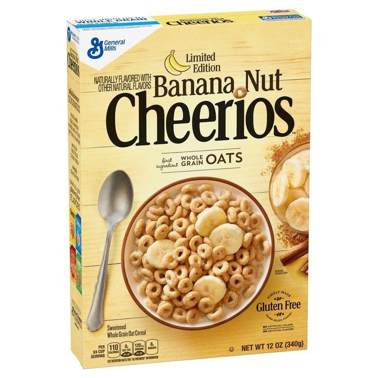 Cheerios Banana Nut Breakfast Cereal - 12oz - General Mills