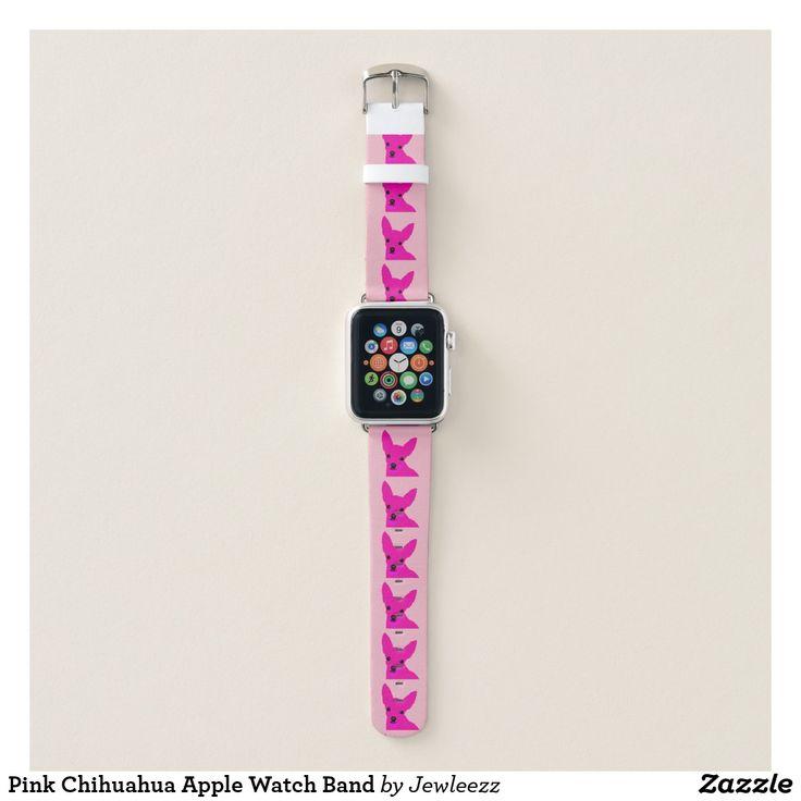 Pink Chihuahua Apple Watch Band