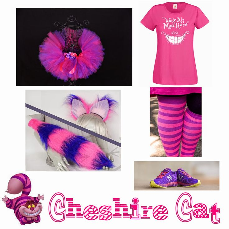 With Alabama Swagger: Disney Run Costumes: Cheshire Cat