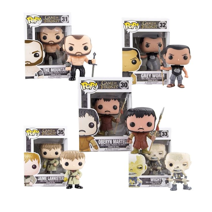 19.55$  Watch now - http://alijdx.shopchina.info/1/go.php?t=32716150435 - Funko Pop Original Game of Thrones 4 Wight Mountain Grey Worm Jaime Lannister Oberyn Martell Collectible Vinyl Figure Model Toy 19.55$ #aliexpressideas
