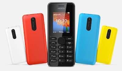 Nokia announces two new ultra-affordable camera phones, the 108 and 108 Dual SIM.