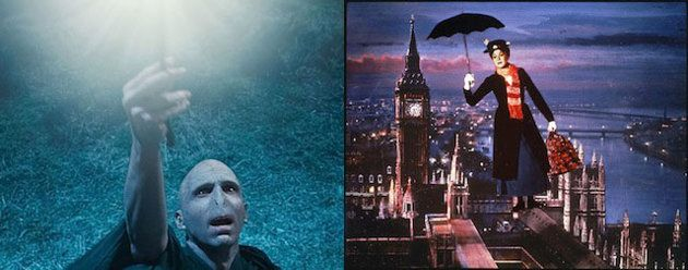mary poppins to fight voldemort in olympic opening ceremony? oh please be true!