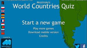 About the game: Mrozinsky's World Countries Quiz is a unique educational game that's perfect for geography learning. The main objective is guessing the names of countries, capitals and flags.
