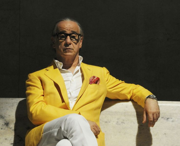 "Italian actor Toni Servillo as Jep Gambardella in LA GRANDE BELLEZZA (""The Great Beauty"", 2013)"