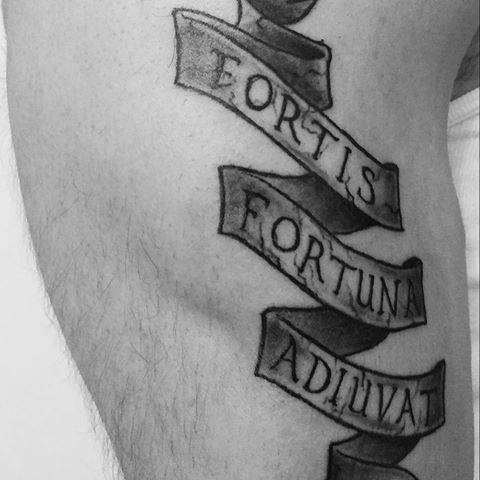 Resultado de imagem para fortis fortuna adiuvat tattoo ...