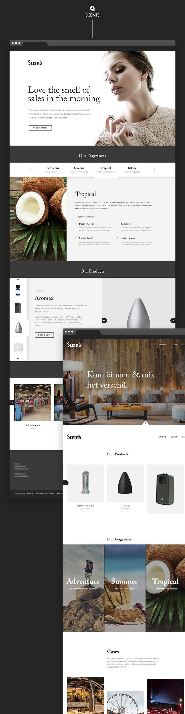 Web design inspiration | #1218