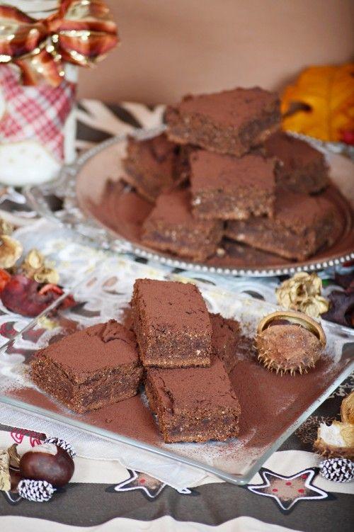 Gesztenyés brownie - MINDENMENTES