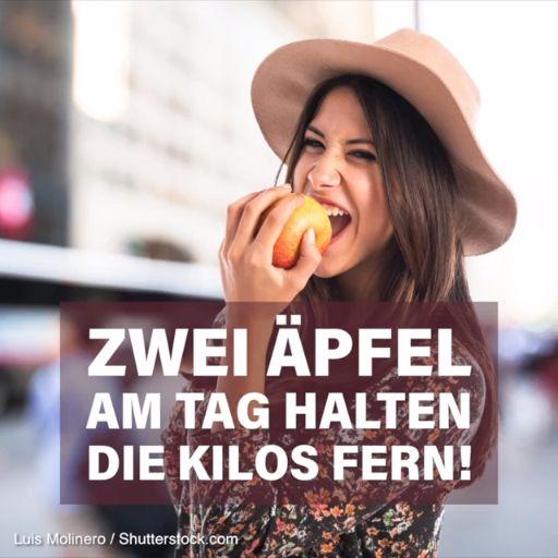 Die Apfel-Diät: 5 Kilo weg mit dem Apfel-Trick
