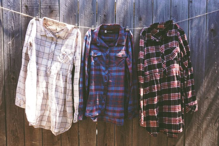 Mad about flannels. #volcomwomensflannels
