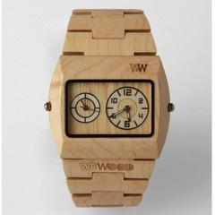 WeWood Jupiter Watch: Woods Watches, Wooden Watches, Jupiter Dual, Wrist Watches, Dual Movement, Movement Watches, Products, Wewood Jupiter, Design