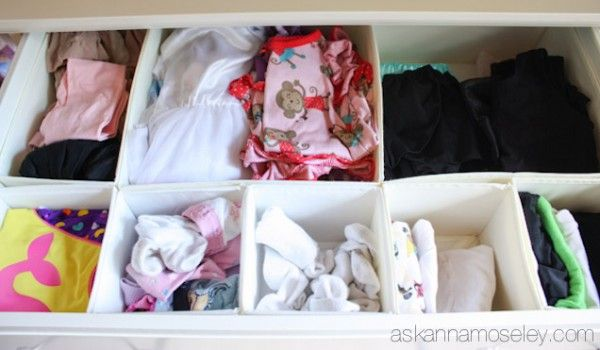 Dresser Organization Tips