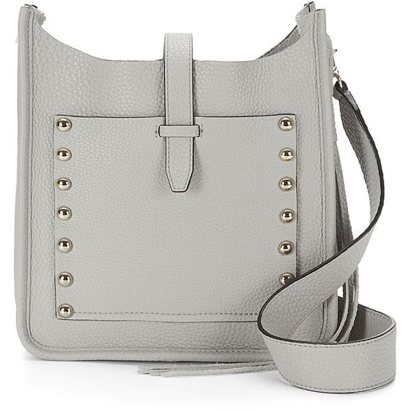 Rebecca Minkoff Small Unlined Feed Bag (1.110 BRL) ❤ liked on Polyvore featuring bags, handbags, strap purse, studded bag, studded purse, studded handbags and rebecca minkoff purse
