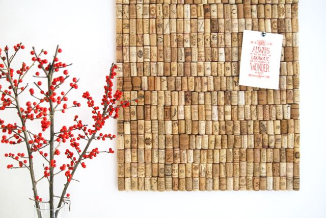 Love this and as soon as we have enough corks, we are making this idea from the3Rsblog Recycled Cork Board